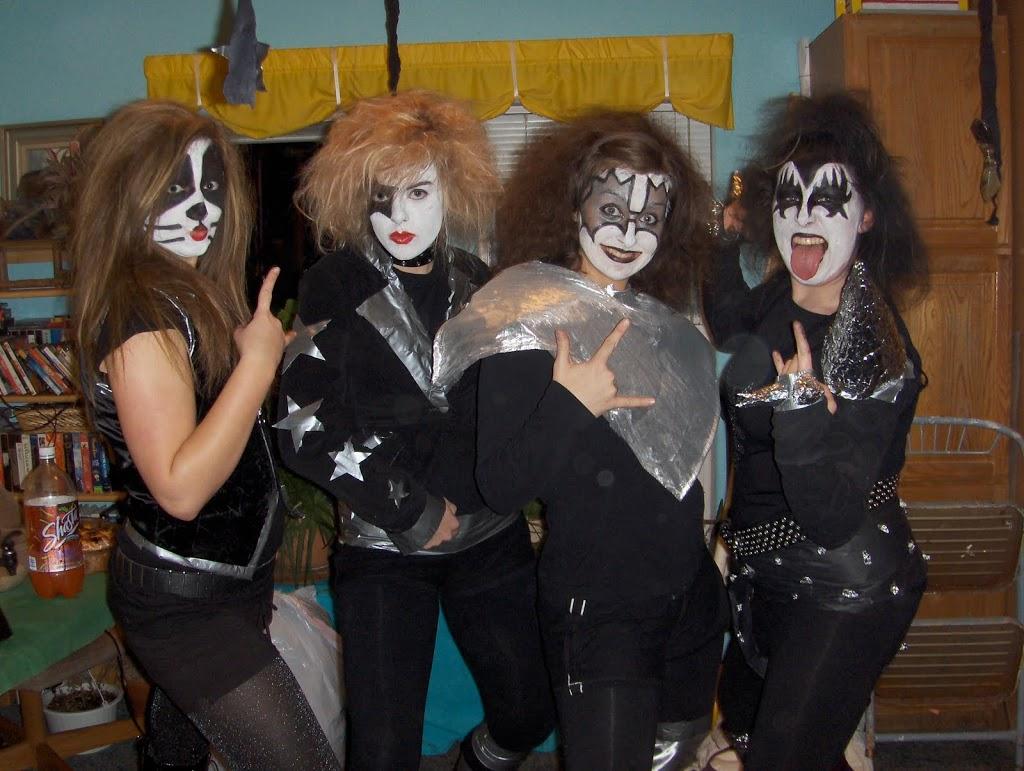 Four Girl Halloween Costumes