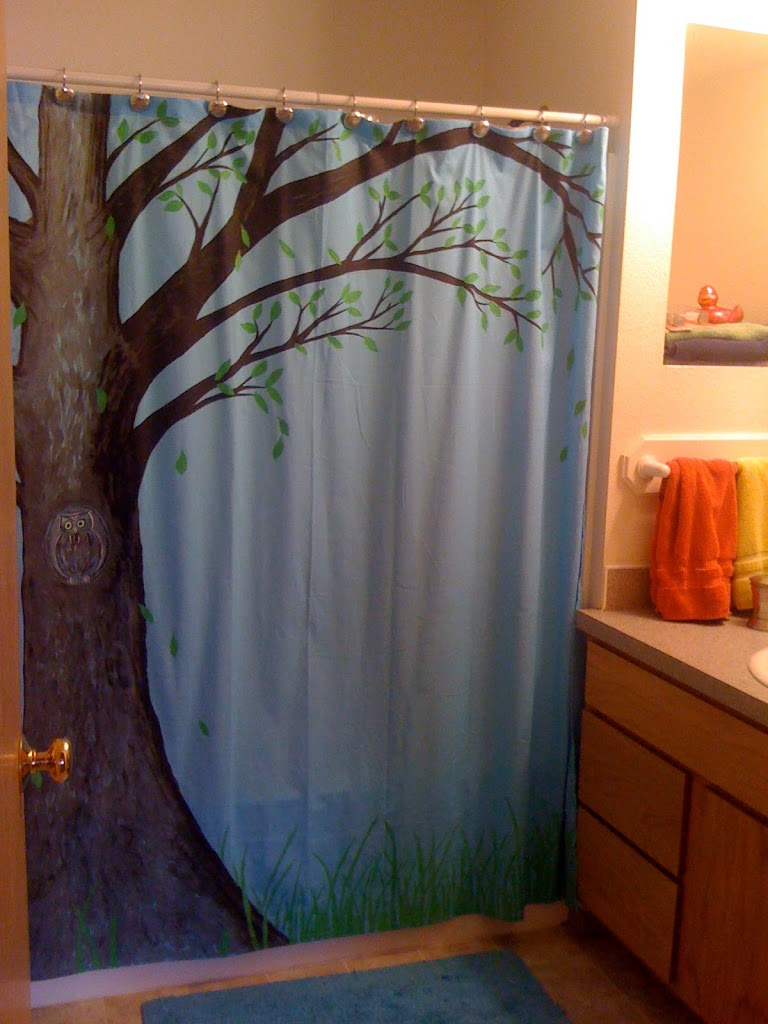 Owl shower curtains - Owl Shower Curtains 13