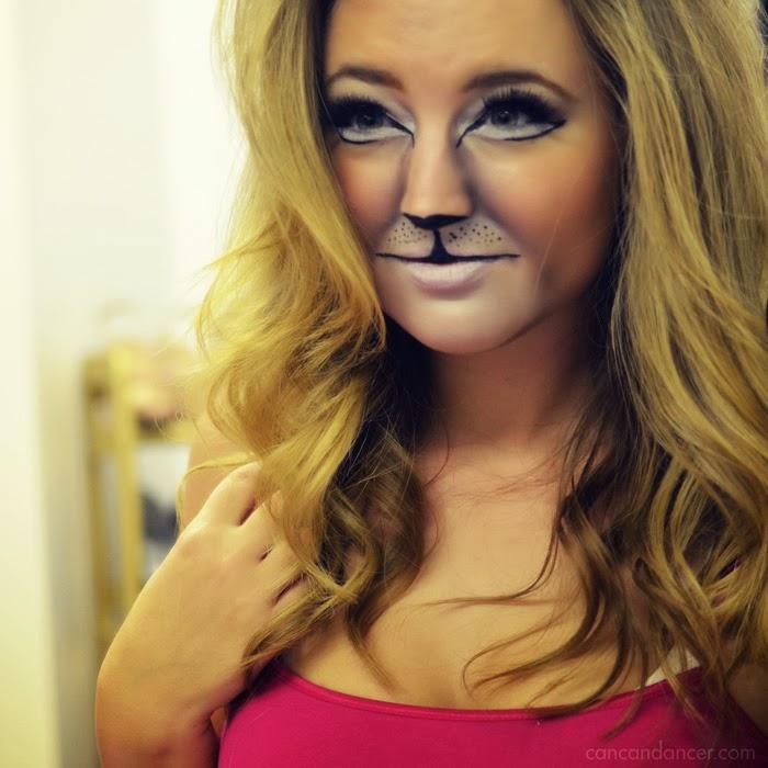 Lion Halloween Makeup Can Can Dancer