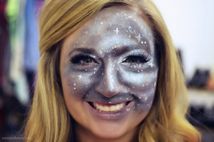 well be counting stars halloween makeup - Can Can Dancer Halloween Costume