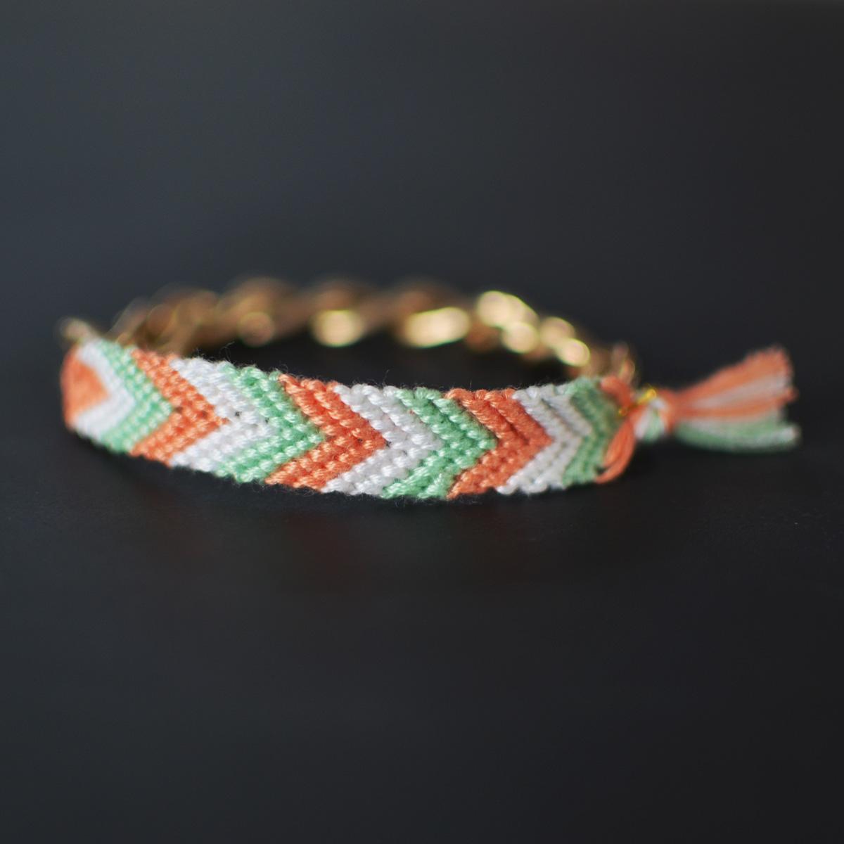 Chevron bracelet - Dsc_0141