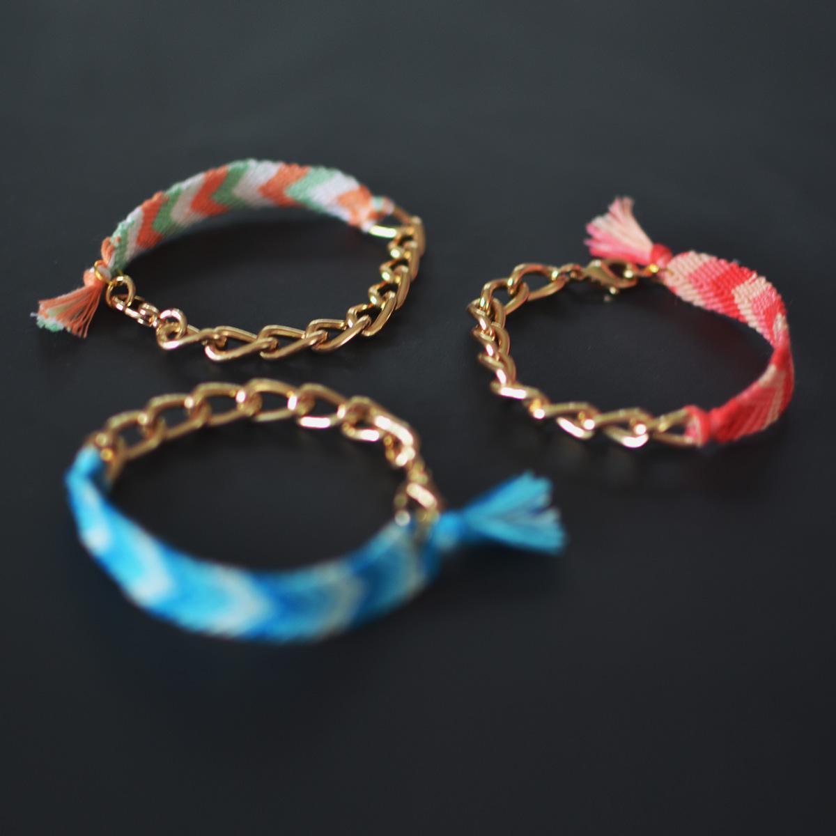 Chevron bracelet - Dsc_0162