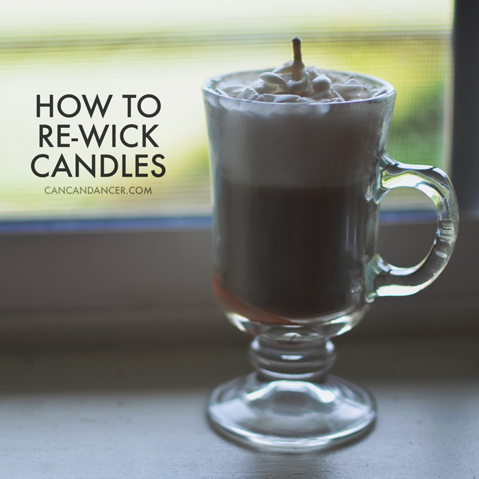 How to Re-Wick Candles