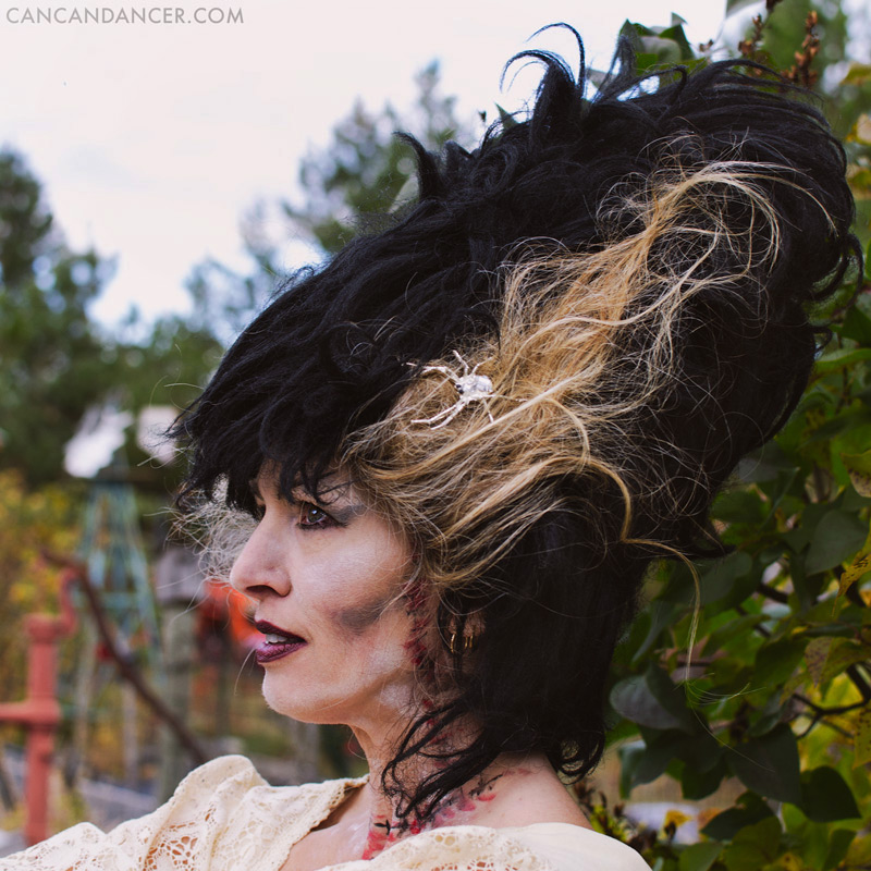 DIY Halloween Costume #5 - Bride of Frankenstein