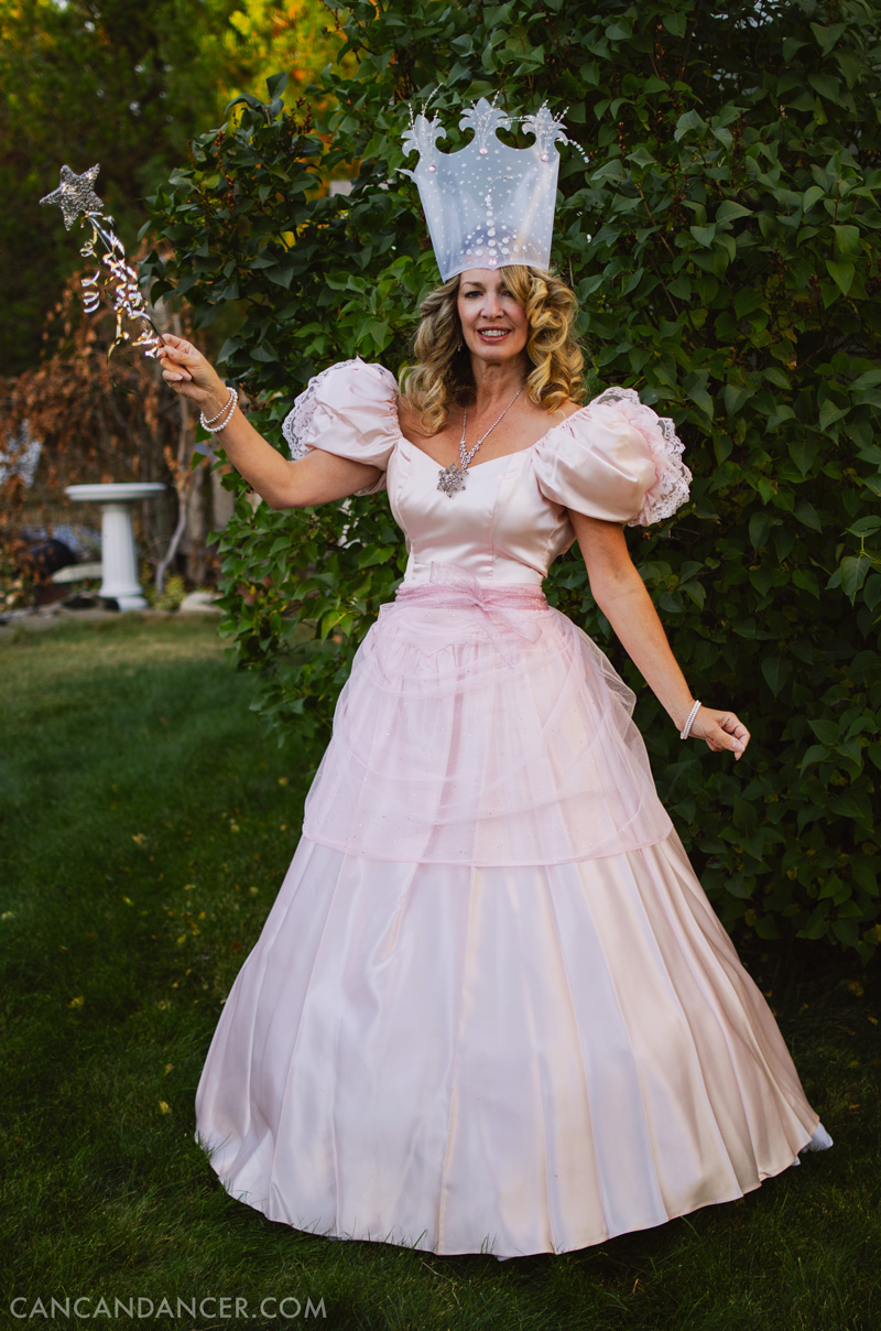 halloween costume idea 1 glinda - Can Can Dancer Halloween Costume