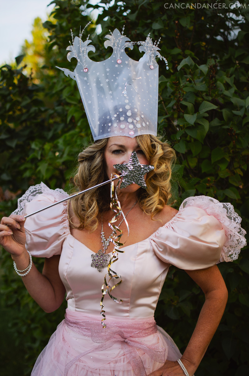 Halloween Costume Idea #1 - Glinda