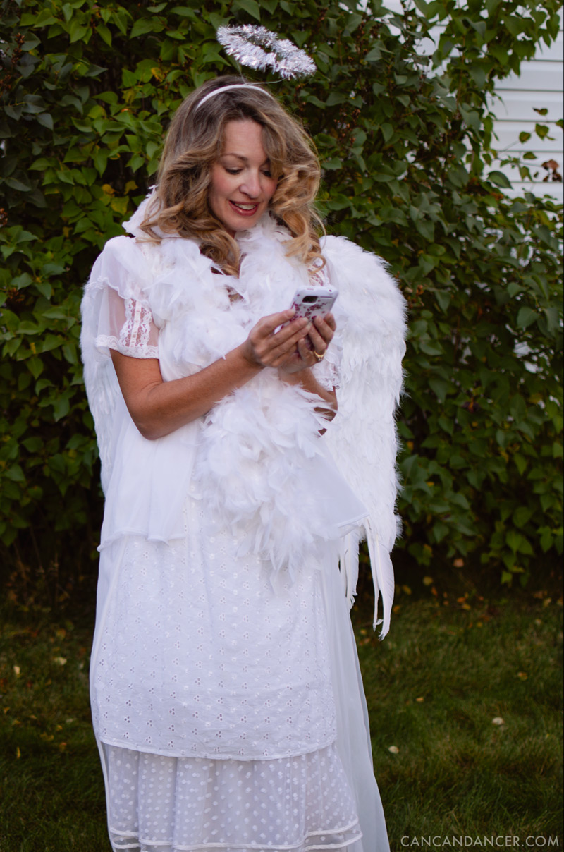 DIY Halloween Costume #6 - Angel