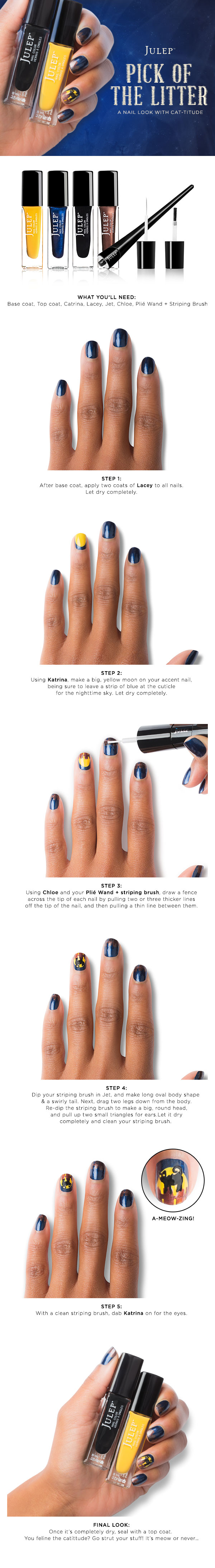 Julep's Halloween Nail Art Contest